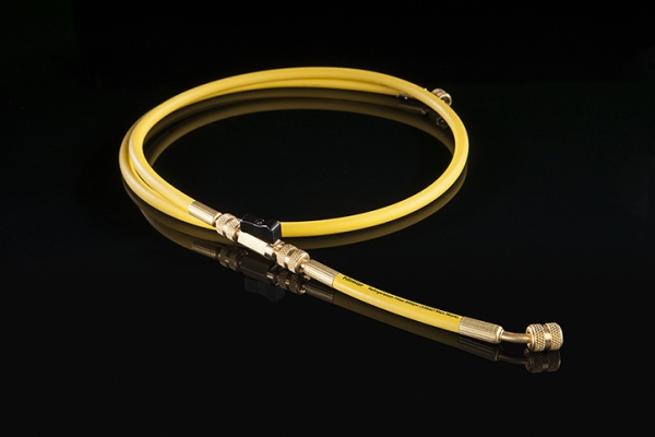 Refrigeration Hoses with Ball Valve Adapters more view image 2
