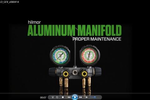 4-valve Aluminum Manifold | hilmor – HVAC/R Tools